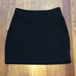 Urban Outfitters mini skirt (black)